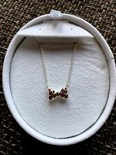 Brand New In Box CHAMILIA DISNEY MINNIE MOUSE BOW BOWTIQUE NECKLACE RRP £75