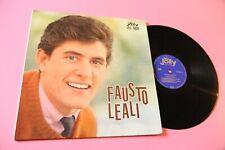 FAUSTO LEALI LP PRIMO DISCO JOLLY ORIGINALE 1964