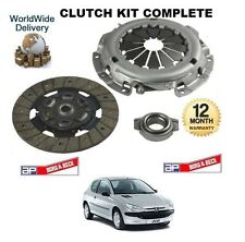 FOR PEUGEOT 206 1.1i 1.4i 1996 > NEW 3 PIECE CLUTCH KIT COMPLETE