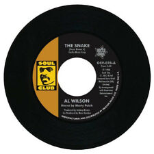 """Al Wilson : The Snake/Show and Tell VINYL 7"""" Single (2013) ***NEW*** Great Value"""