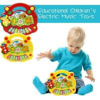 Baby Kids Farm Piano Musical Educational Development Music Fun New Toy Gift O7R8