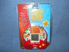 2008 DISNEY HIGH SCHOOL MUSICAL 5 IN 1 HANDHELD ELECTRONIC GAME BY ZIZZLE - NEW