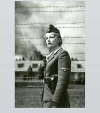 German Prison Camp Female Guard PHOTO World War II, Women Concentration Camp