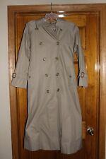 Vintage Burberry Beige trench Coat, Women's 4L