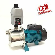 Elettropompa autoclave AJm75S hp 1 + Presscontrol BRIO 2000 Pompa INOX acqua 220
