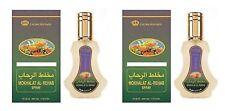 2 Pack mokhalat 35ML Madera Exótica Oriental Eau de Perfume Spray almizclado por AL rehabilitación