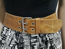 Amber Gaye Wide Leather Belt