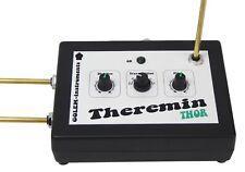 Theremin Thor - Pitch und Volume - analog - bis zu 9 Oktaven - Netzteil Theramin