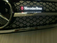 star LED Light Front Grille Badge Illuminated Decal Emblem  for Mercedes Benz