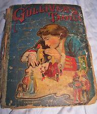 Gullivers Travels Dean Swift Hardcover Book Edwin Chapman Illustration Children