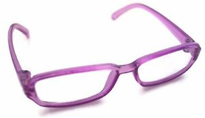 "Purple Rimmed Eye Glasses made for 18"" American Girl Doll Clothes Accessories"