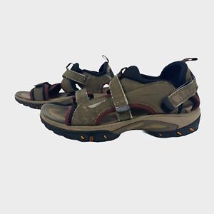 CLARKS ACTIVE AIR Mens Sandals Size UK 10G EU 44.5 Beige Sports Shoes