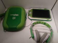 Leapfrog LeapPad XDI Ultra Not Working Parts Lot Used Headphones Case Stylus C