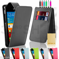 NEW FLIP PU LEATHER CASE COVER SCREEN PROTECTOR FOR SAMSUNG GALAXY S2 Sii i9100