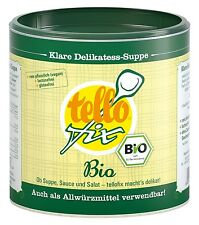 tellofix Bio 340 g (17 l) bio Gemüsebrühe & Allwürzmittel Bio-Qualität