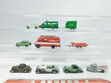 AZ434-0,5# 8x Praline H0 (1:87) Modell: FW+Polizei+Tempo+Horch+Opel+Ford+BMW+MB