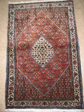 Vintage Semi Antique Bidjar Persian Rug B-7958