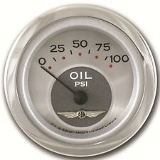 "classic instruments all american series Oil pressure guage 2 1/8"" hot rod street"