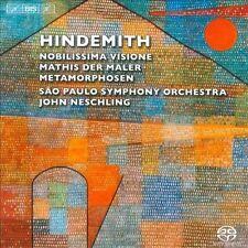 Orchestral Works: Nobilissima Visione / Mathis Der Maler / Metamorphosen, New Mu