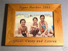 Personalized 5x7 Wood Picture Frame We engrave it free!