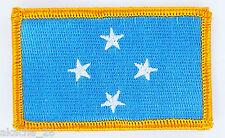 Ecusson Brodé PATCH drapeau  MICRONESIE MICRONESIA USA FLAG EMBROIDERED