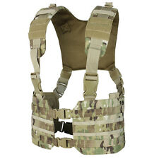 Condor MCR7 RONIN MOLLE Chest Rig Quick Release Split Padded H-Harness Multicam