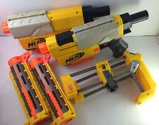 Nerf Recon CS-6 Gun Dart Blaster Shoulder Stock Front Attachment Clips lot of 2