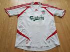 Mens adidas Liverpool CARRAGHER #23 Away football shirt 2007 - 2008 Size M