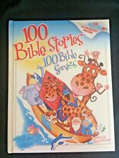 100 Bible Stories 100 Bible Songs by Stephen Elkins (2005, Hardcover) with 2 Cds