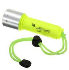 NEW CREE XM-L XML T6 LED Waterproof Diving Flashlight Torch 1800LM For 18650