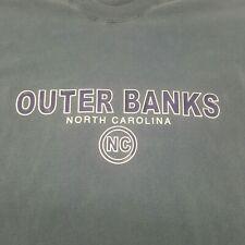 Outer Banks North Carolina Faded Blue Tshirt Tail Ships Small Mens clothing