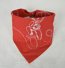 Marc Jacobs Bandana Scarf Rope Western Red NEW Cowboy Horse Gun Holster Boots