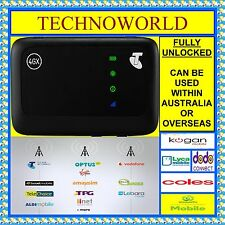 UNLOCKED ZTE MF910V+4G WIFI MODEM+USE LEBARA+AMAYSIM+DODO+VIRGIN+OVO+VAYA+KOGAN