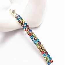 Delicate Women's Crystal Rhinestone Hair Clip Barrette Hairpin Bobby Pin Jewelry