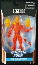 Hasbro Marvel Legends Exclusive Fantastic Four The Human Torch 6 inch figure mip