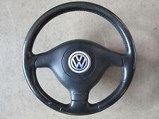 VOLANTE in pelle airbag Volante Sport Volante VW Golf 4 PASSAT 3b 3bg 1j0419091af