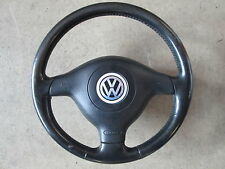 Lederlenkrad Airbag Sportlenkrad Lenkrad VW Golf 4 Passat 3B 3BG 1J0419091AF