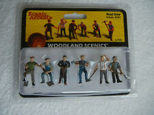 Woodland Scenics A2761 Road Crew Scenic Accents O Scale NEW