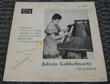 Julieta Goldschwartz ...Harpsichord Vivaldi Back Concerto In F C G Marcello D