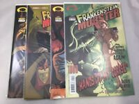 Frankenstein Mobster # 0 - 3 Image Comics 2003 Mark Wheatley VF+ 4 Issue Lot