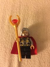Odin Father God Thor Loki Minifig Marvel Figure Staff Asgard Dark Old Leg World