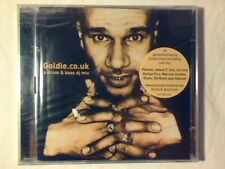 GOLDIE Goldie.co.uk - A drum & bass dj mix 2cd ED RUSH OPTICAL SIGILLATO SEALED