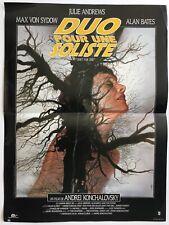 Affiche de cinéma de 1987, film DUO POUR UNE SOLISTE, J.Andrews, poster 52x39