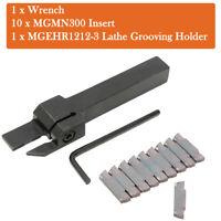10pcs MGMN300 Wendeplatten mit MGEHR1212-3 Drehmeißel Bohrstange Werkzeughalter