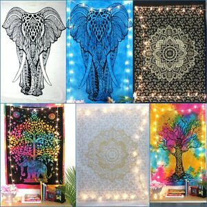 Tapestry Poster Lots Of 24 Pcs Whole Sale Bulk Offer Cotton Small Indian Ethnic