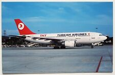 THY Turkish Airlines A310-203 postcard