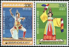 SOUTH KOREA STAMP 2017 40th DIPLOMATICTIES JOINT ISSUE KOREA SRI LANKA 2v MNH