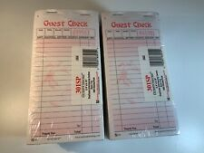 NEW 2 PART GUEST CHECK CARBON LOT OF 20