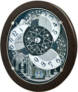 Rhythm Clocks Marble Stars Magic Motion Clock (4MH431WU23)