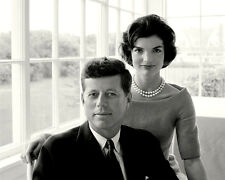 "JOHN F. KENNEDY WITH HIS WIFE JACQUELINE ""JACKIE"" IN 1959 - 8X10 PHOTO (ZZ-055)"